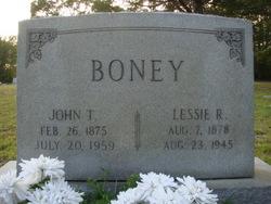 Lessie <i>Rimer</i> Boney