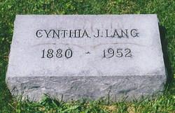 Cynthia Jane <i>Henderson</i> Lang