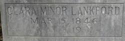 Clara <i>Minor</i> Lankford