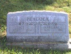 Harland J Harley Peacock