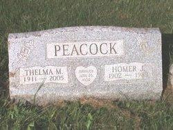 Homer J Peacock
