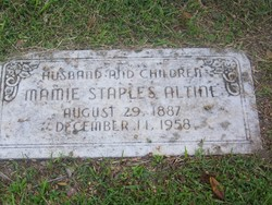 Mamie <i>Staples</i> Altine