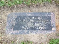 Estelle <i>McElhenney</i> Stelling