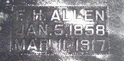 Fleming Hezekiah Bud Allen