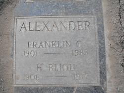 H Bijou Alexander