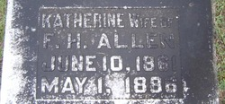 Katherine <i>Sims</i> Allen