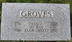 Fred A Groves