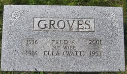 Ella <i>Watt</i> Groves