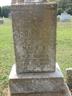 Mary Ellen <i>Mosley</i> Burks