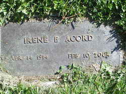 Irene E <i>Elliott</i> Acord