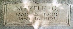Myrtle G. Bowen