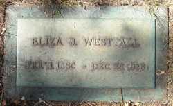 Eliza Jane <i>Sweany</i> Westfall