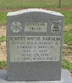 Robert Wayne Barnum