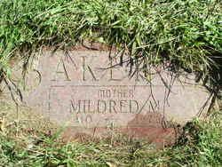 Mildred M <i>Sutton</i> Baker