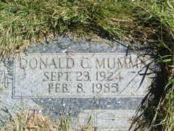 Donald C Mumma