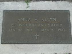 Anna M Allyn