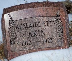 Adelaide Etta Akin