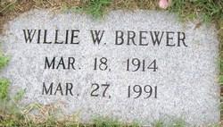 Willie W. Brewer