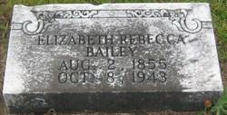 Elizabeth Rebecca <i>McLane</i> Bailey