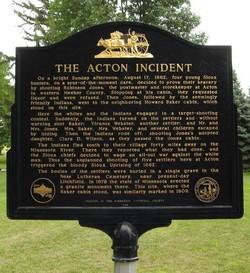 Acton Incident Monument