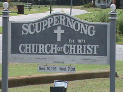 Scuppernong Church of Christ Cemetery
