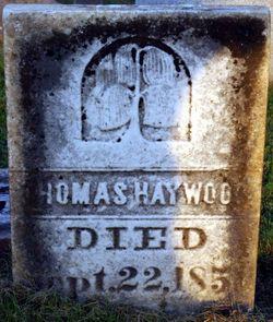 Thomas Haywood, Sr