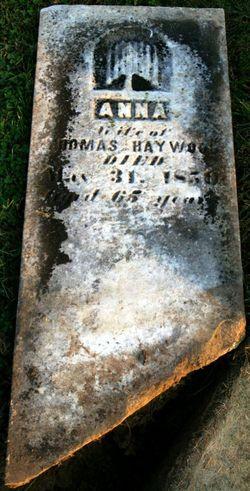 Anna <i>Smith</i> Haywood