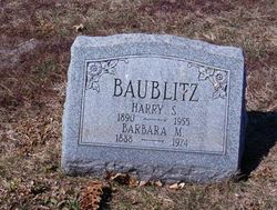 Barbara M <i>Adelman</i> Baublitz