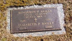 Benjamin Franklin Bailey