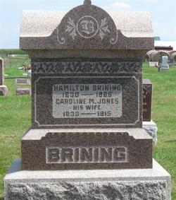 Caroline M <i>Jones</i> Brining