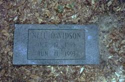 Nell Gertrude Nellie <i>Myers</i> Davidson