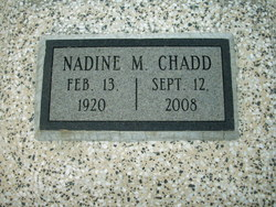 Nadine <i>Grant</i> Chadd