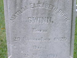 Matilda Elizabeth Bowie <i>Johnson</i> Gwinn