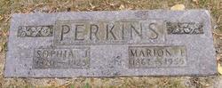 Sophia Johannah <i>Dobel</i> Perkins