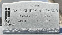 Ida B. <i>Guidry</i> Allemand