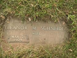 Eleanor Marie Sally <i>Sorenson</i> Schneider