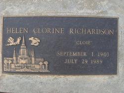 Helen Clorine Cloie <i>Merrill</i> Richardson