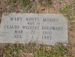 Mary Noyes <i>Moore</i> Boulware