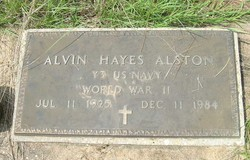 Alvin Hayes Alston