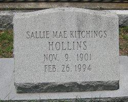Sallie Mae <i>Kitchings</i> Hollins