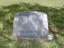 Hal Whistle Boswell