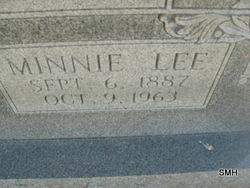 Minnie Lee <i>Morris</i> Adair