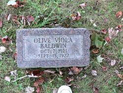 Olive Viola Baldwin
