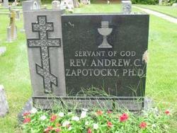 Rev Andrew C Zapotocky