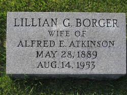 Lillian Gertrude <i>Borger</i> Atkinson