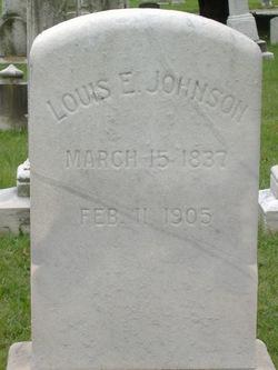 Maj Louis E Johnson