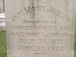 Anne Moore Johnson
