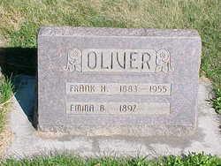 Emma Blanche <i>Hill</i> Oliver