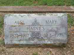 Abel Haines