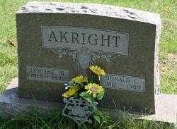 Louise M. <i>Stinger</i> Akright